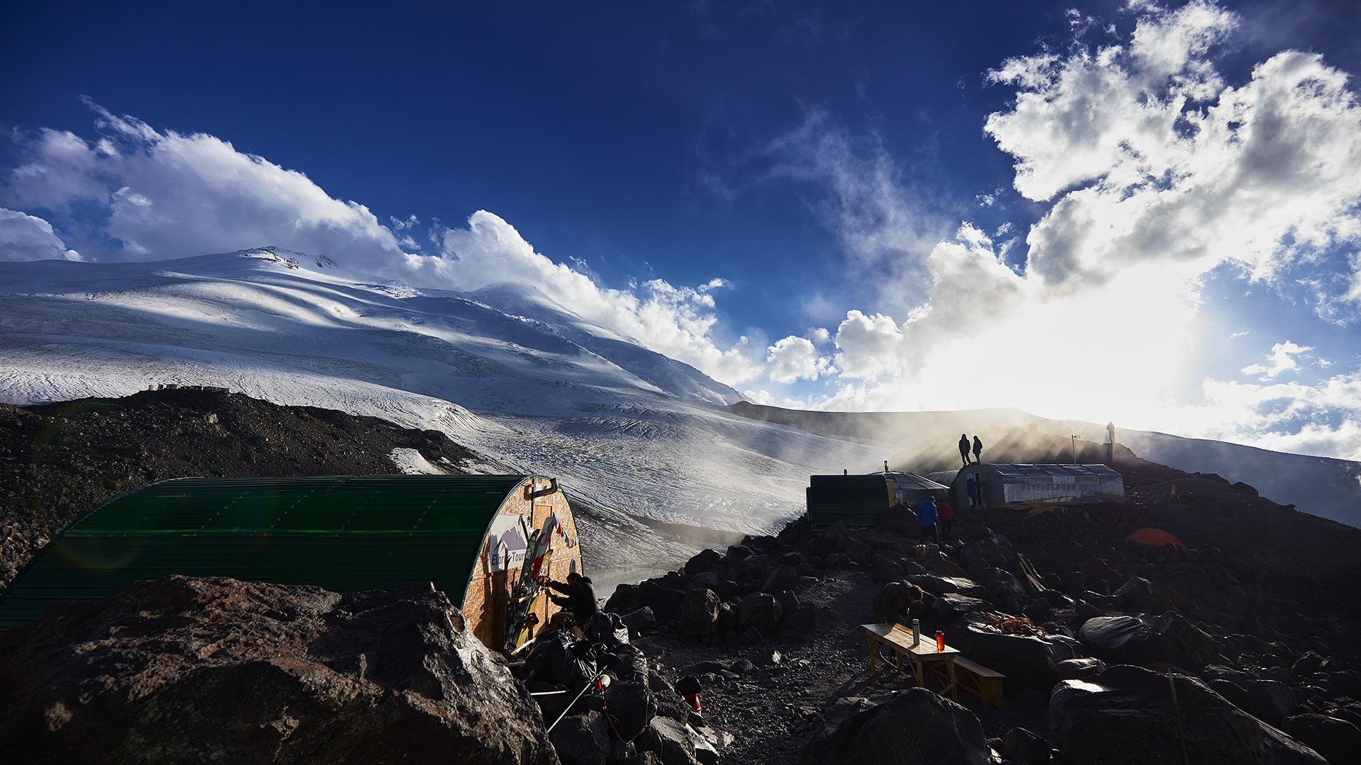 Elbrus - Camp 1 / 3800m