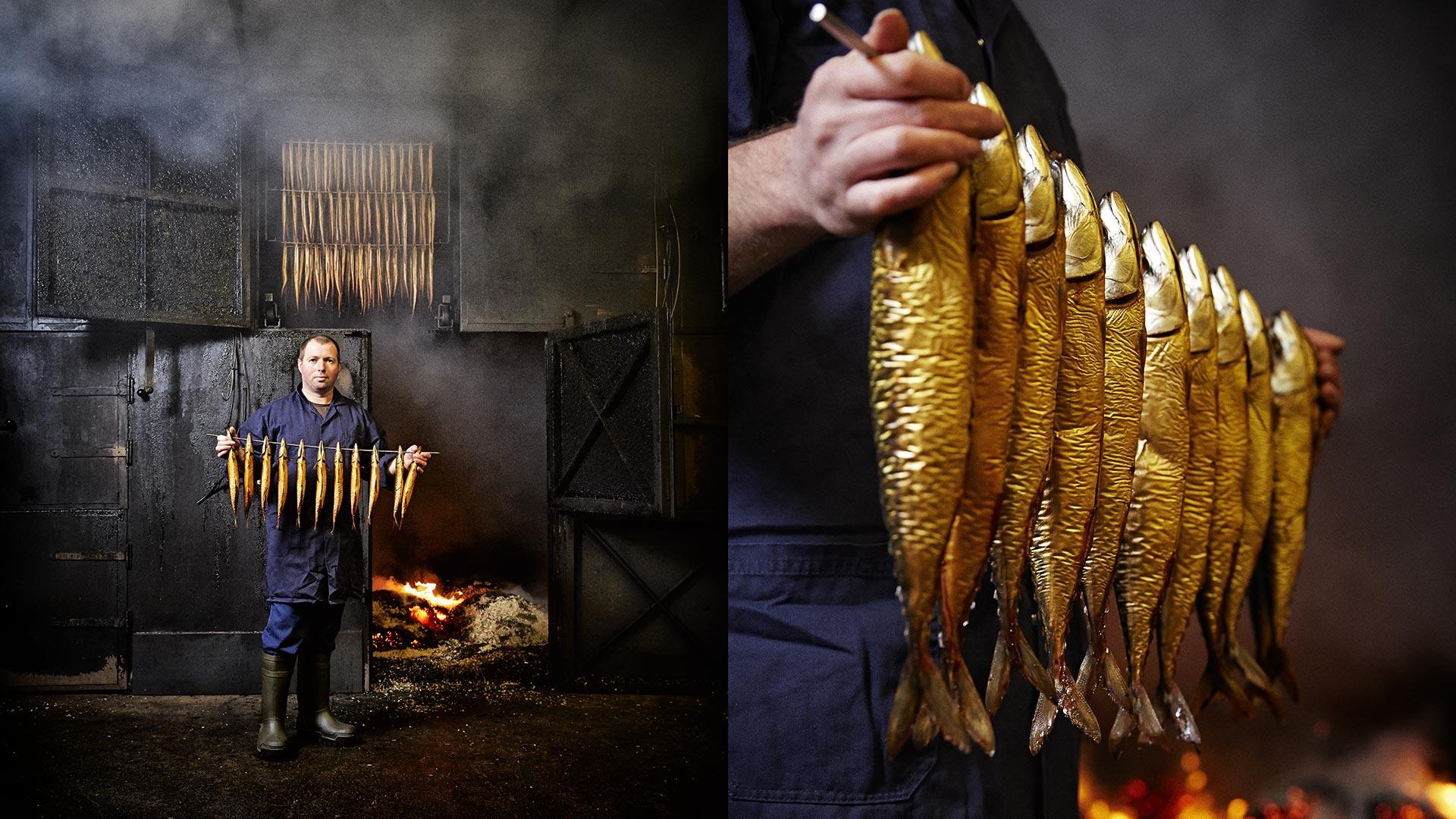 PDJPhoto, Peter de Jong, sluisweg 59, 2225 xj, Katwijk, 2015, makreelroker, rokerij, deka, vuur